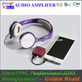 Portable Headphone Amplifier headphone amplifier rechargeable battery amplifier