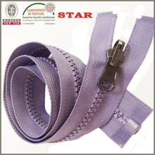 Plastic Zipper with Reverable Slider (#5)