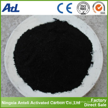 325 mesh water purification powdered activated carbon