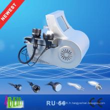 Machine à amincir lentement bipolaire RF à ultrasons à ultrasons RF professionnelle