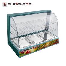 K564 3 camadas de mesa de aquecimento elétrico de alimentos