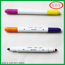 Special for LED board mini dual tips with double colors chalk marker