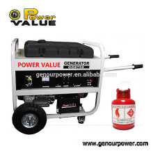 Power Value 3kw natural gas powered electric generator, prices of orient generators in pakistan