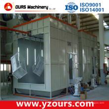 Linha de produção de revestimento de pó de extrusão de alumínio