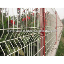 Galvanizado, em seguida, pvc revestido cerca de malha de arame (fábrica anping)