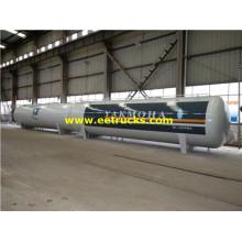 15000 جالون 28MT خزانات الغاز الطبيعي المسال التخزين