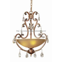 Hotel Decorative Glass Shade Pendant Lamp Chadnelier