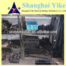 Fornecimento shangbao parker mandíbula triturador peças de desgaste peças parafusos, porcas lavadora e-mail: export@ykcrusher.cn