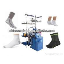 As meias as mais novas que fazem a máquina meias do esporte que fazem malha a máquina da peúga do lonati a máquina do embarque da meias do ruian