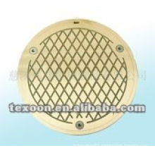 brass bath waste strainers with chrome plated