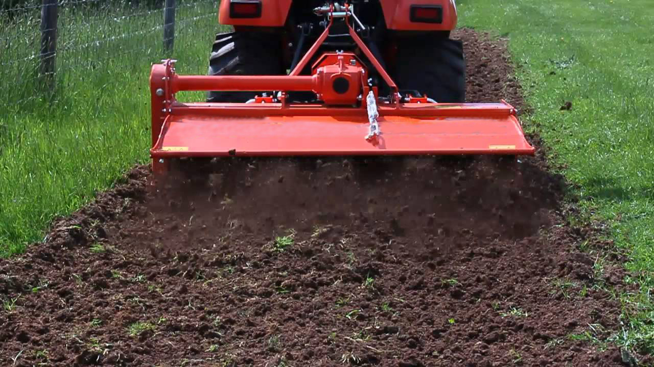 Tractor Equipment Rotary Tiller
