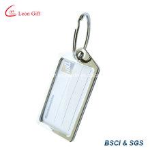 Llavero de metal / llavero diseño etiqueta del equipaje