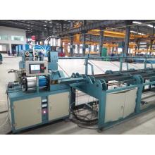 Machine de découpe et de redressement de barres d'acier