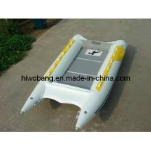 Schlauchboot mit Hochgeschwindigkeits-Firberglass-Frontkegel