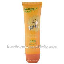 2017 personalizado tubo de suncream macio vazio popular para venda