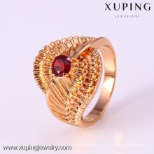12211 Xuping Fashion femme bague avec plaqué or 18 carats
