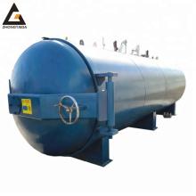 Vulcanizing horizontal pressure vessel rubber vulcanization autoclave machine China rubber autoclave machine