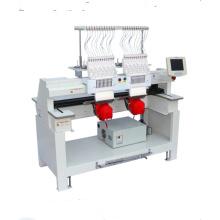 Máquina de bordado automático multiusos de doble cabeza QY-CT