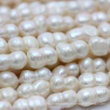 Große Süßwasser Barock Perlen Stränge (E190029)