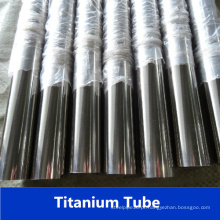 Tubo de titânio de aço inoxidável de Gr2 soldado da fábrica de China