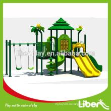 Attraktive kommerzielle Spielplatzausrüstung Outdoor Swingsets