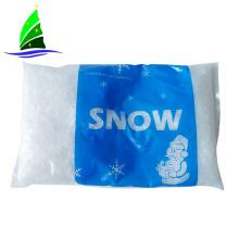 Floco de Neve Artificial Branco de Inverno Decoração da Árvore de Natal
