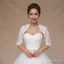 Aoliweiya Wedding Jacket Bridal Shawl Bride Wraps with Sleeves