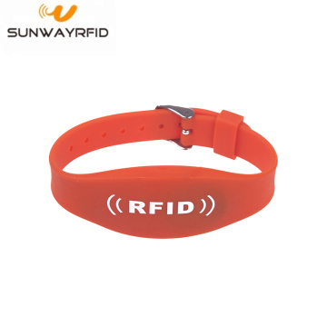 Dubbele frequentie passieve RFID Festival armbanden armband