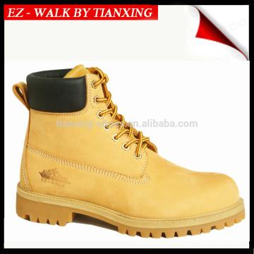 6 дюймов высоты хороший год РАНТА нубука кожаный ботинок безопасности с стальным носком
