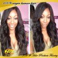 Wholesale 6A Unprocessed Brazilian Remy Full Lace 100 Percent Human Hair Wigs For Black Woman