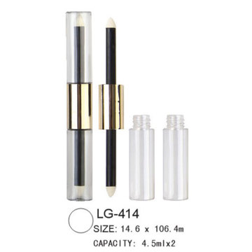 Double têtes Lip Gloss affaire LG-414