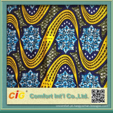 100% Cotton Real Africa Wax Fabrics