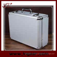 High Quality Tool Box 28cm Aluminum Alloy Tool Case for Pistol Gun Case