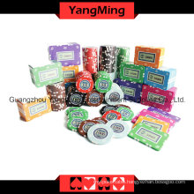 Crown Clay Poker Chip Set 760PCS (YM-TZPK007)