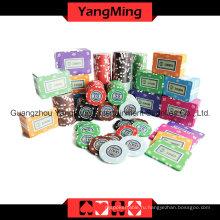 Набор микросхем для покера Crown Clay 760PCS (YM-TZPK007)