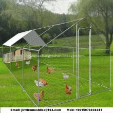 Hexagonal Mesh Chicken Cage House