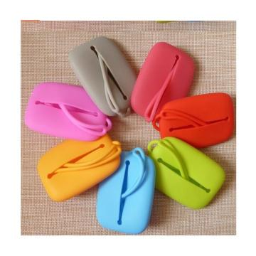 Lady Fashion Silicone Purse para Key Rubber Candy Bag