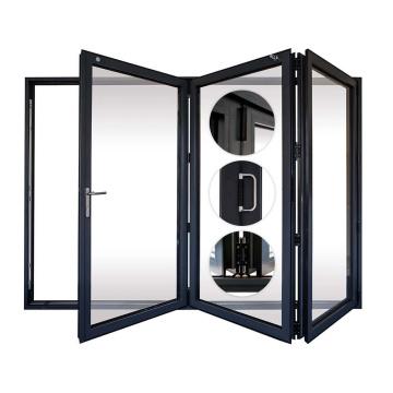 Profilé de porte pliante en PVC en plastique