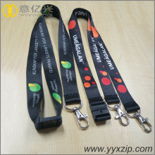 custom polyester lanyards with id card holder