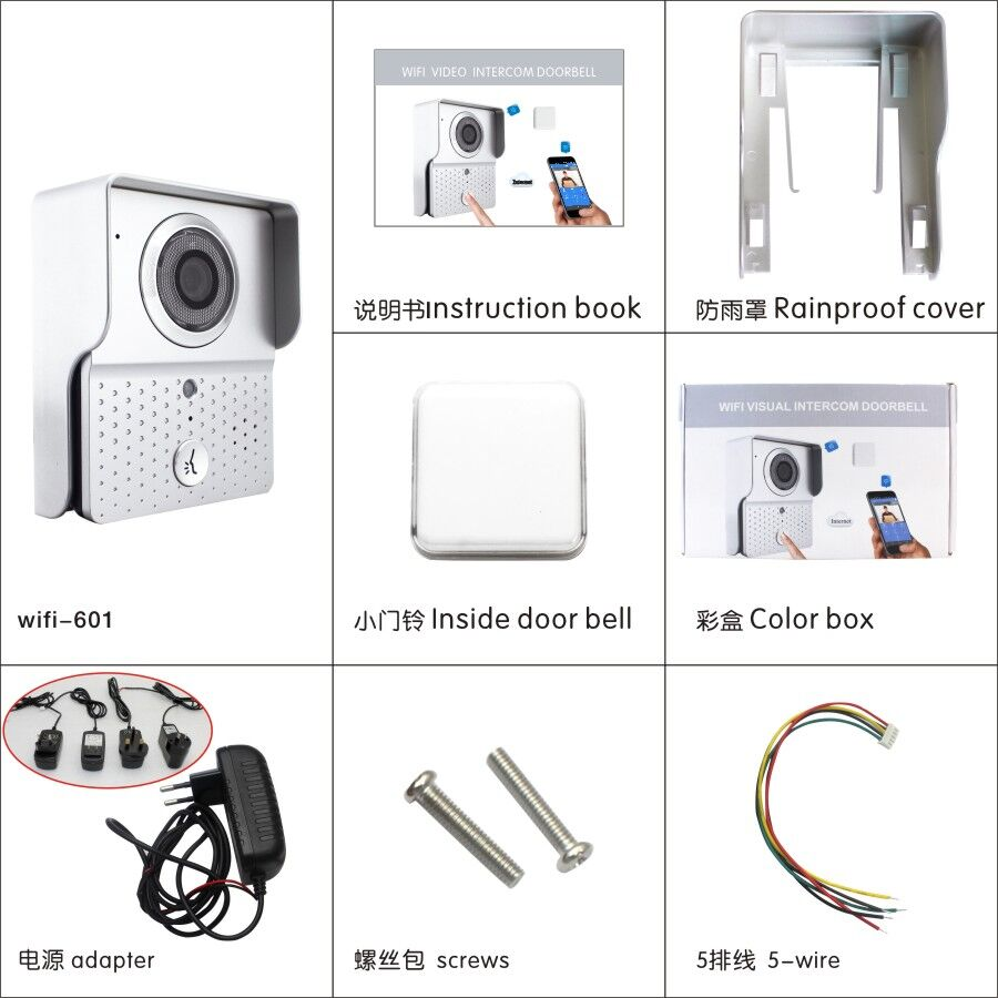 Wifi Doorbell Accessories