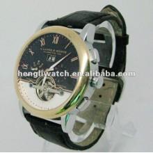 Mode automatische Uhr, Männer Edelstahl Uhren 15037