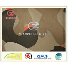 228t Poly Taslon Big Pattern Desert Camouflage Printing Fabric (ZCBP125)