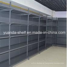 Prateleira pesada da parede do metal do armazenamento da exposição da bebida da carga do supermercado