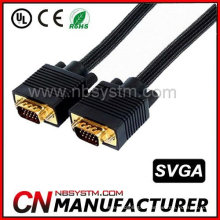 100 pieds Supper VGA M / M Câble avec manchon en nylon