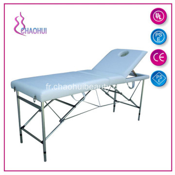 En aluminium Massage chaise Portable