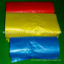 HDPE Color Flat Packaging Bag on Roll
