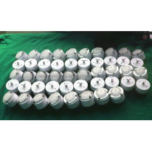 Les pièces polies par usinage de pièces de rotation élevées commandent la commande numérique par ordinateur