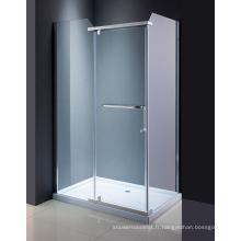 Douche en verre populaire de douche d'écran
