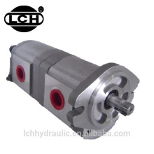 aluminium 200bar hydraulic 2 stage gear pumps