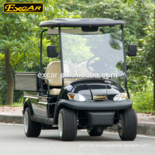 EXCAR Electric utility car china barato 4 asientos mini golf car con carga